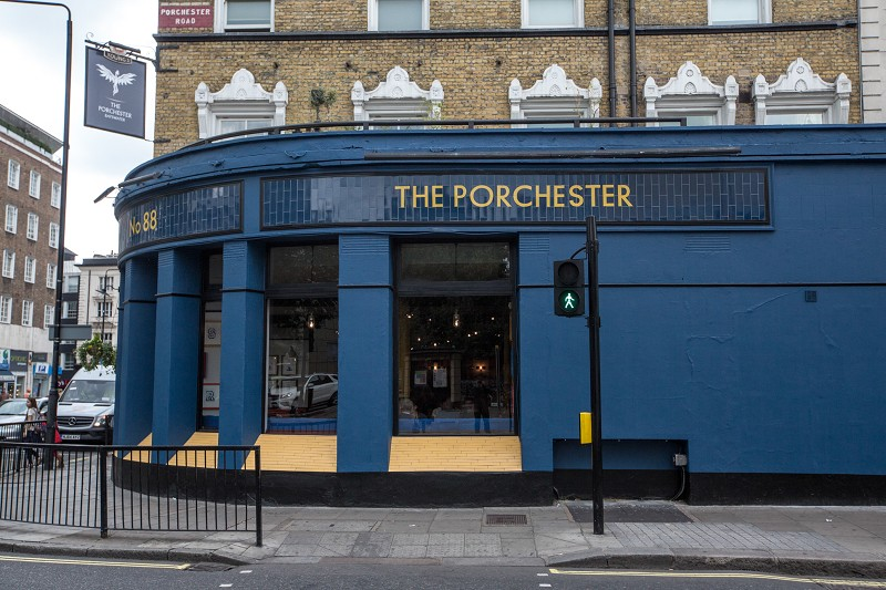 The porchester traditional english young s pub in for 10 porchester terrace