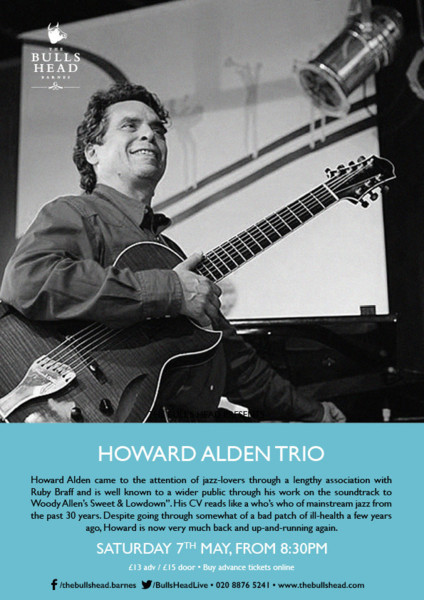 JATB presents The Howard Alden Trio