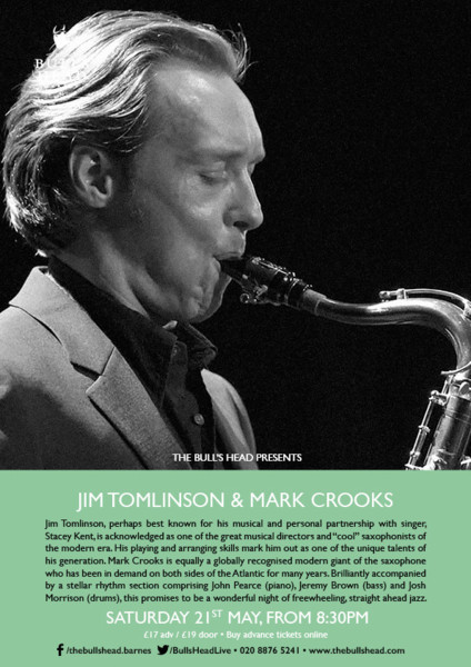JATB presents Jim Tomlinson & Mark Crooks
