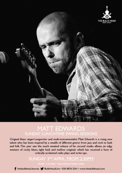 Sunday Lunch Swing Session: Matt Edwards