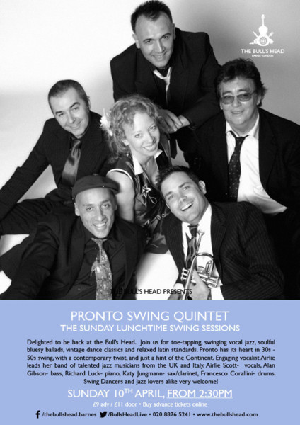 The Pronto Swing Quintet