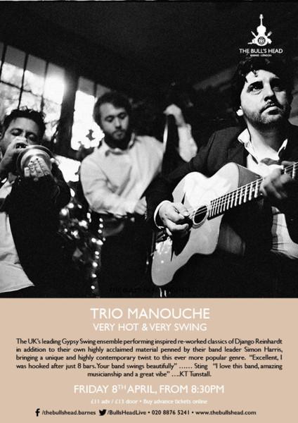 Trio Manouche: Very Hot & Very Swing