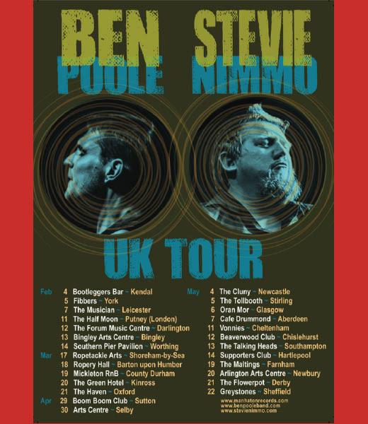 Ben Poole + Stevie Nimmo