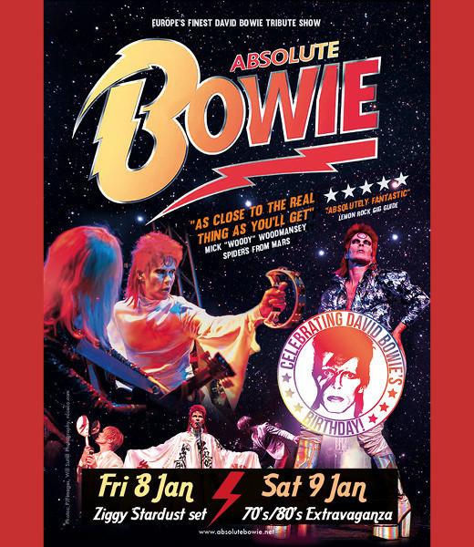 *SOLD OUT* Absolute Bowie - Ziggy Stardust Set