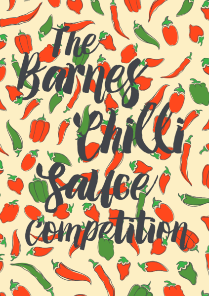 Barnes Chilli Sauce Competition