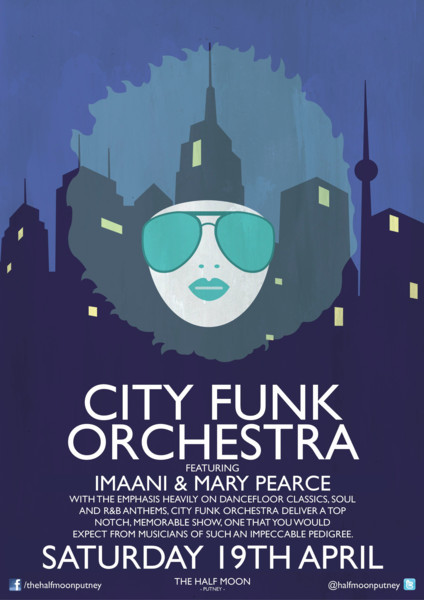*SOLD OUT!* City Funk Orchestra Mary Pearce + Noel McCalla