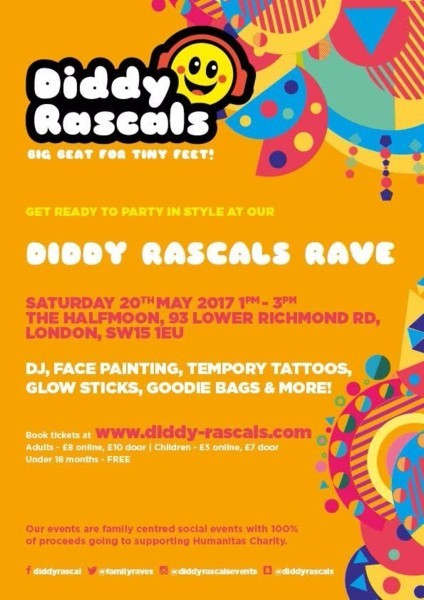 Diddy Rascals Family Rave