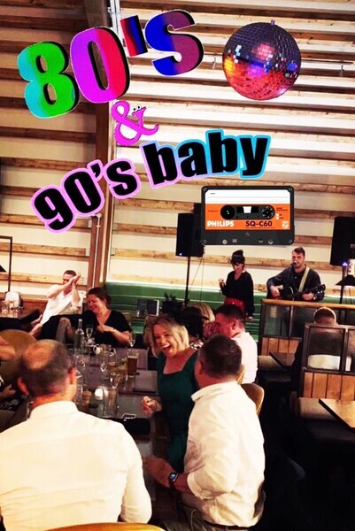 80's & 90's throwback at The Bull!