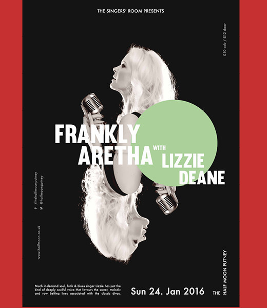 Singers' Room presents Frankly Aretha with Lizzie Deane