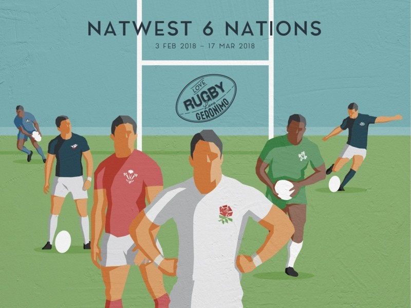 Natwest 6 Nations Round 5