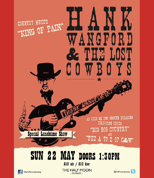 Lunchtime: Hank Wangford & The Lost Cowboys