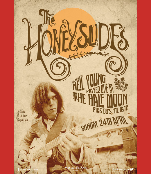 The Honeyslides - It's Neil Young Thing