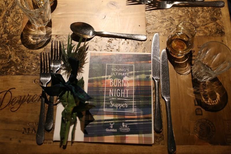 Burns night supper