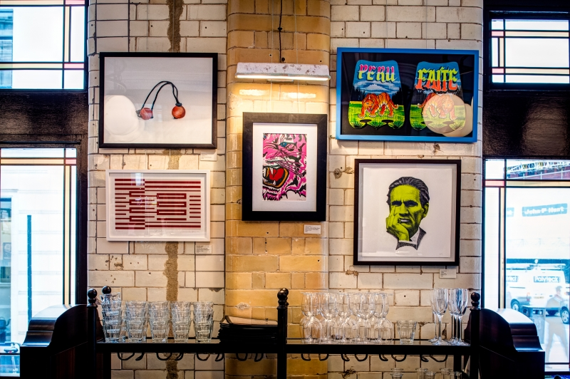 CEVICHE OLD ST GALLERY & FIRST THURSDAYS