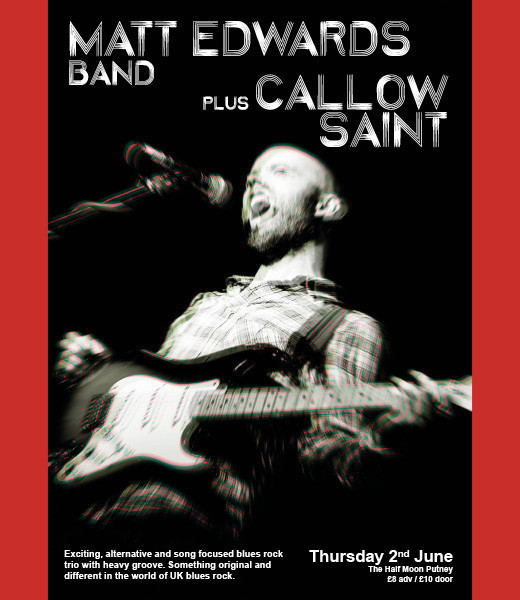 Matt Edwards Band + Callow Saints