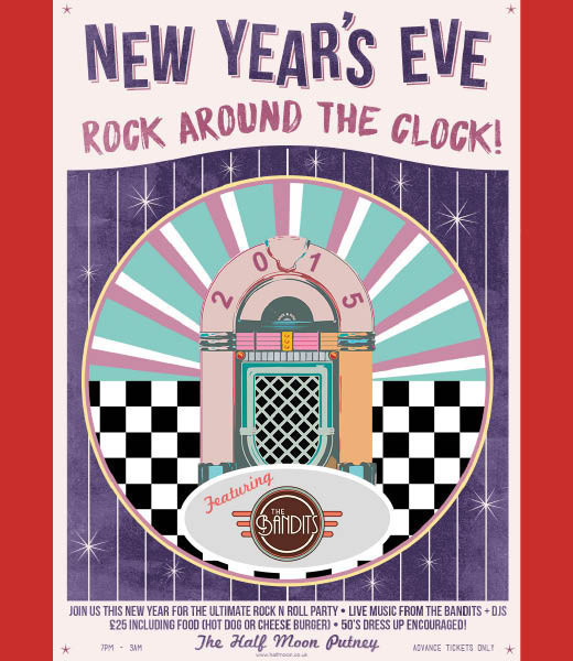 Rock Around The Clock NYE Party