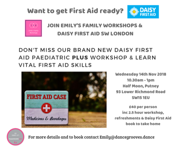 Emily's Family Workshop - First Aid