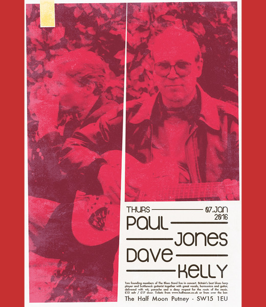 *Sold Out* Paul Jones & Dave Kelly