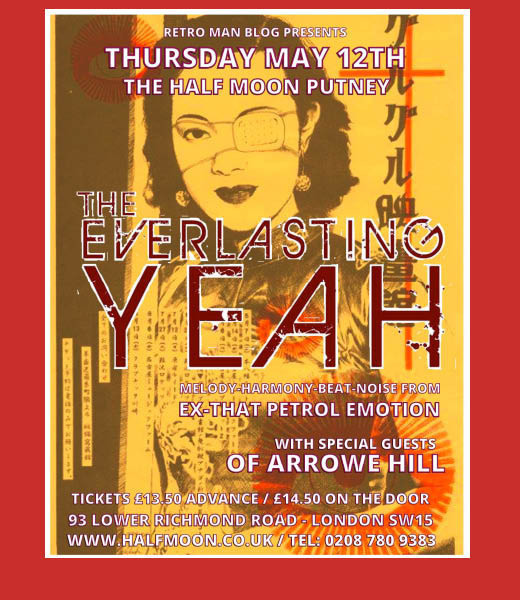 Retro Man Blog present: The Everlasting Yeah + Of Arrowe Hill