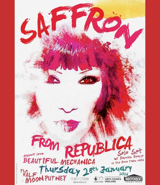 Saffron (Republica) + Beautiful Mechanica
