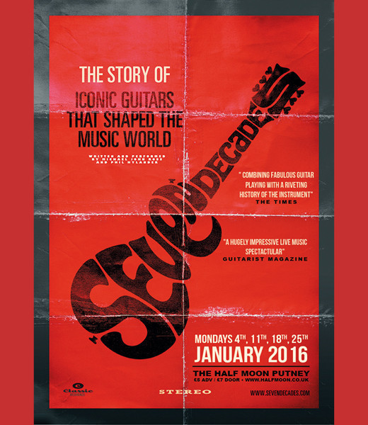 Seven Decades - The Story of Iconic Guitars