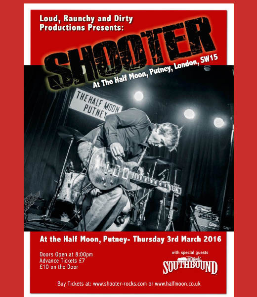 SHOOTER + Southbound