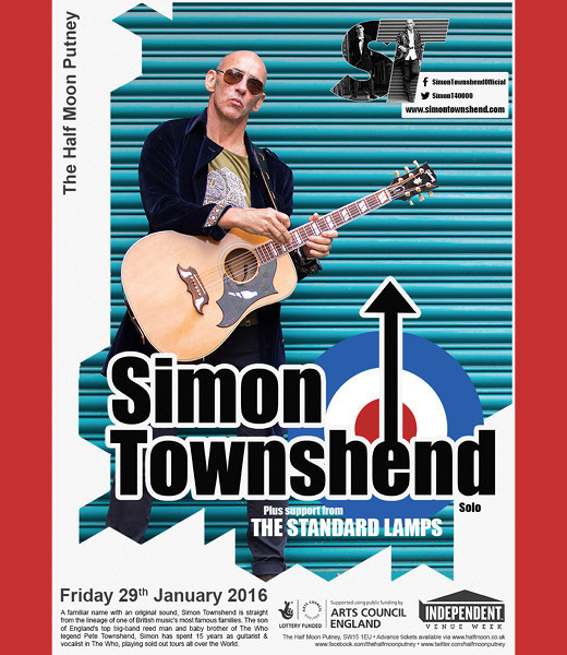 Simon Townshend + The Standard Lamps