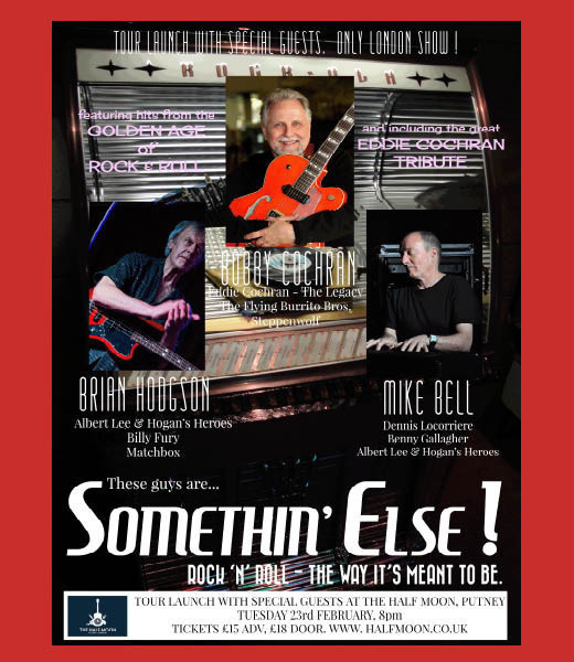 Somethin' Else! 2016 Tour Launch Show