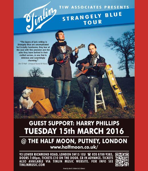 Tinlin - Strangely Blue Tour