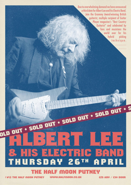 Albert Lee & his Electric Band