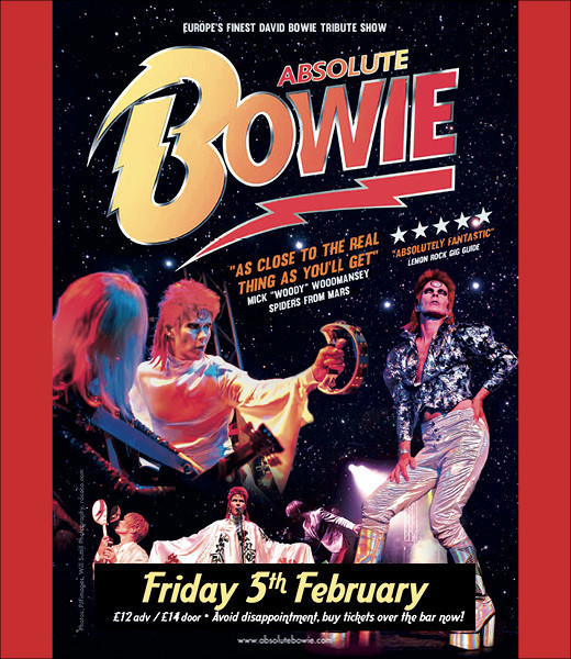 SOLD OUT - David Bowie Celebration featuring Absolute Bowie