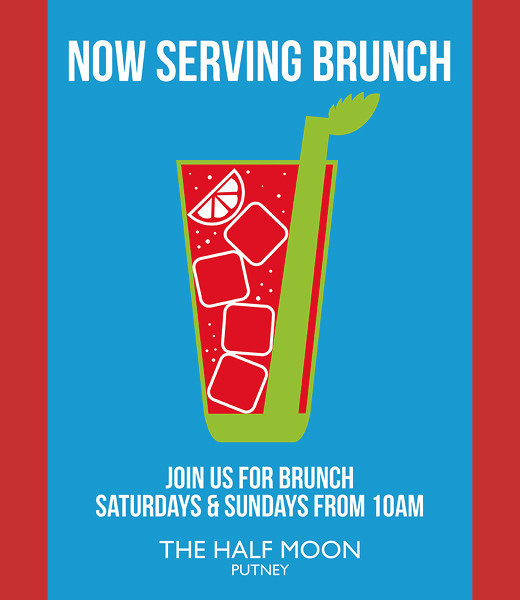 Now serving brunch every weekend