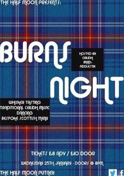 Burns Night Dinner 25/01/2017
