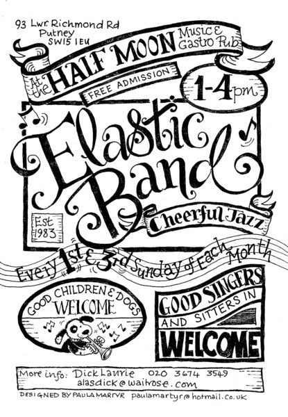 Sunday Jazz Club - Dick Laurie & The Elastic Band