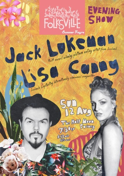 Folksville Festival ft Jack Lukeman & Lisa Canny