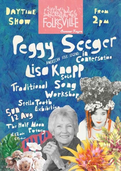 Folksville Festival ft Peggy Seeger & Lisa Knapp