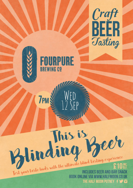 Craft Beer Tasting with Fourpure Brewing Co
