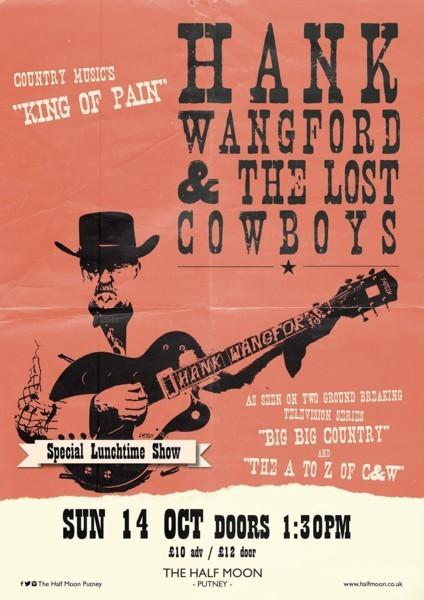 Matinee - Hank Wangford & The Lost Cowboys