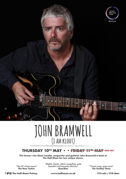John Bramwell (I am Kloot)