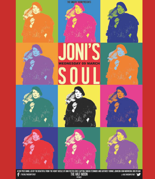 Singers' Room Presents Joni's Soul