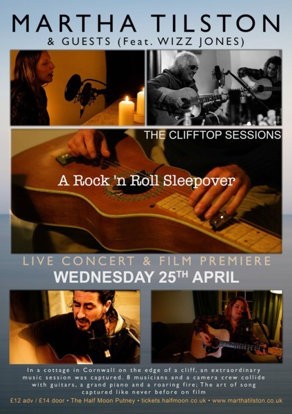 Martha Tilston 'Clifftop Sessions' - With Special Guests incl. Wizz Jones