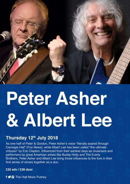 Peter Asher and Albert Lee - An Intimate Evening of Stories & Songs
