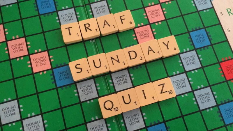 Sunday Funday quiz!