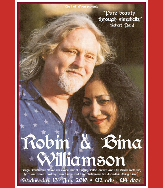 Robin and Bina Williamson
