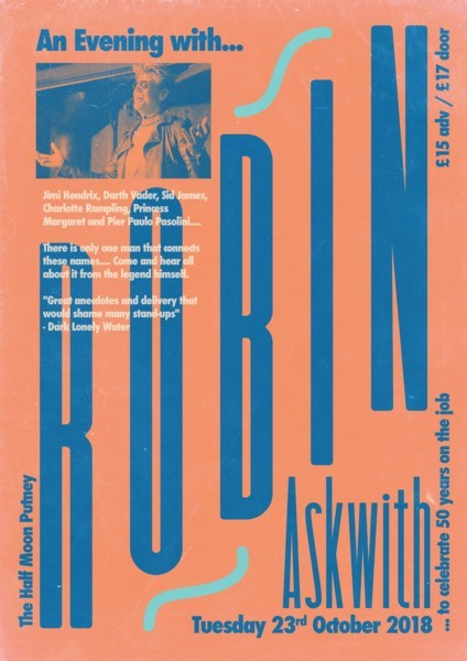 Misty Moon presents Robin Askwith In Conversation