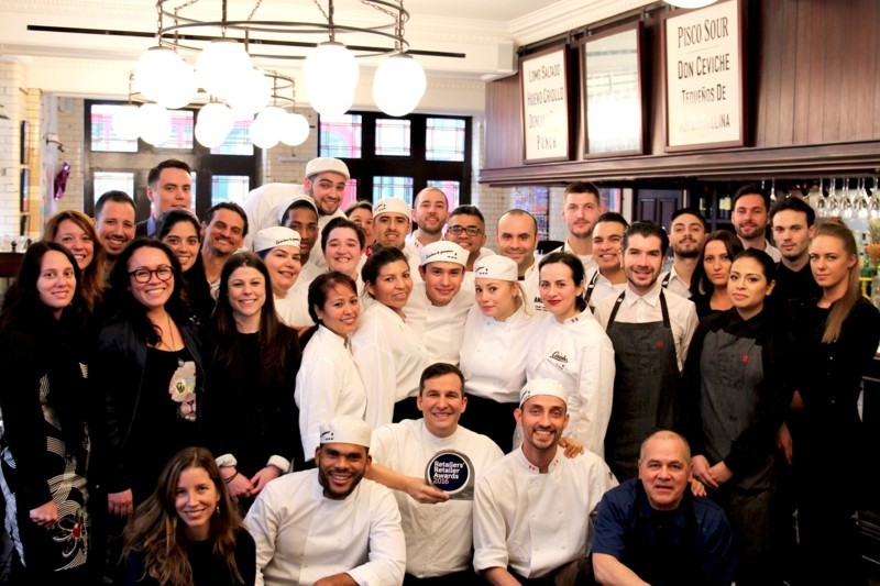 Ceviche Old St wins Best Venue award