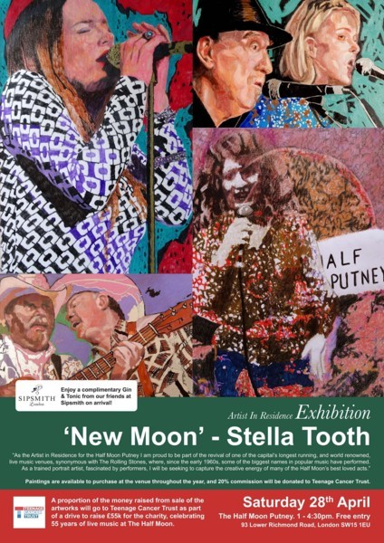 Stella Tooth Artist in Residence
