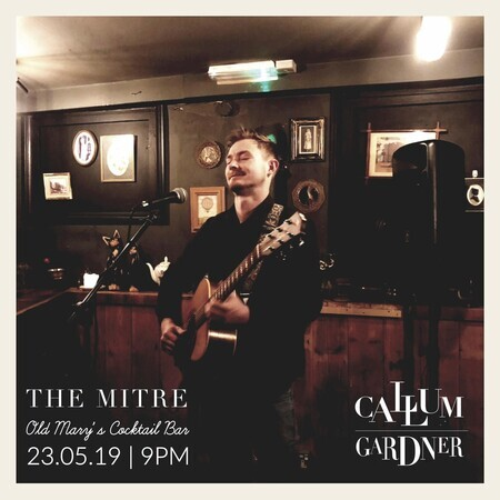 Thursday Live Music : Callum Gardner