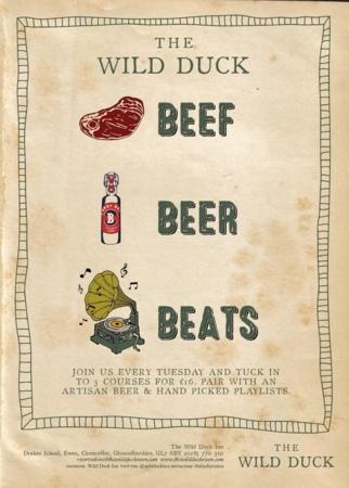 BEEF, BEER & BEATS!