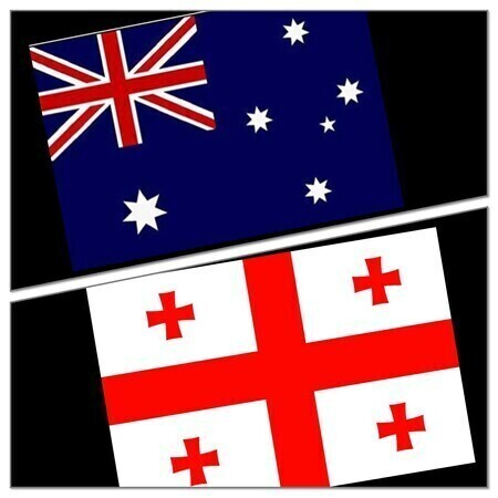 RWC - AUSTRALIA V GEORGIA